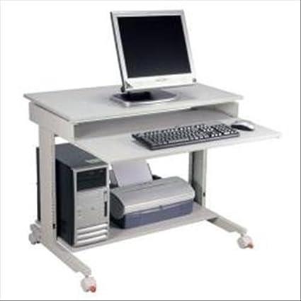 Twinco Poste informatique - largeur x profondeur 900 x 500 mm hauteur réglable de 720 à 1100 mm - meubles informatiques poste de travail informatique poste informatique poste pour ordinateur postes de travail informatique postes informatique