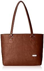 Fantosy Women's Handbag (Tan,Fnb-197)