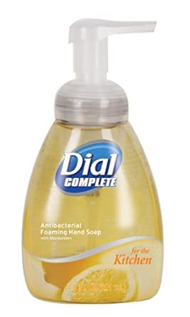 Dial Complete 06001 Tabletop Pump Kitchen Antibacterial Foaming Hand Soap, 7.5 oz, (Case of 8)
