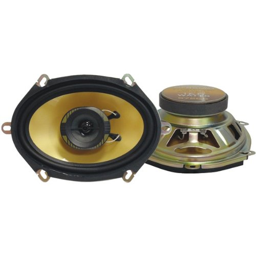 "Pyramid 572Gs Yellow Label Series 2-Way Speakers (5'' X 7"" 160-Watts) - New"