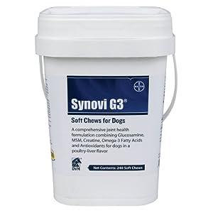 DVM Resources SynoviG3 Soft Chews, 240 Chews