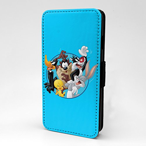 cartoons-comic-printed-phone-flip-case-cover-for-apple-iphone-4-4s-looney-tunes-bugs-bunny-s-t1170