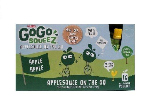 GoGo Squeez Apple Sauce On the Go 3 2 Pound