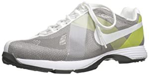 Nike Golf Women's Nike Lunar Summer Lite Golf Shoe,Sport Grey/Soft Yellow/White,7.5 M US