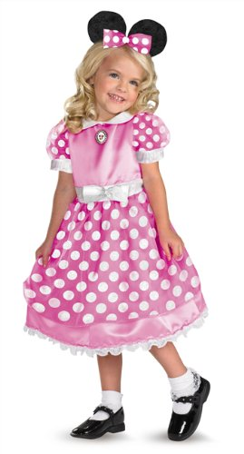 Costumes For All Occasions DG50105L Clubhouse Minnie Pink Large 4-6X