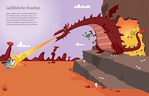 Mein Stickerbuch: Ritter und Burgen: Usborne zum Mitmachen