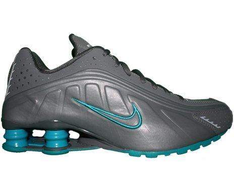 a2e7f9e09c4 Nike Shox R4 Nano Grey Nano Grey-Neutral Grey-Glass Blue Mens Shoes  104265-022 Review