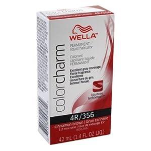 Amazon.com : Wella Cc Liquid #0356/4R Cinnamon Brown Haircolor (3 Pack