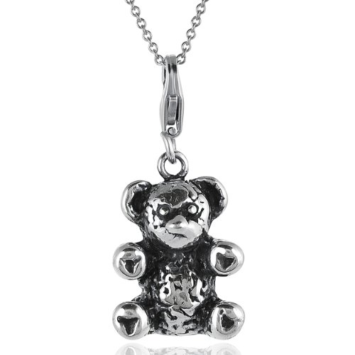 Alexandria Collection Sterling Silver Teddy Bear