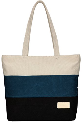 arcenciel-womens-canvas-shoulder-hand-bag-tote-bag-blueblack