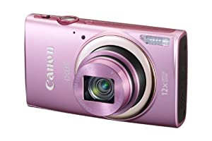 Canon IXUS 265 HSCompact Digital Camera - Pink (16MP, 12x Optical Zoom, 24x ZoomPlus, Wifi, NFC) 3inch LCD