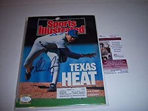 Nolan Ryan Texas Rangers Jsa coa Signed Sports Illustrated - Autographed MLB... by Sports+Memorabilia