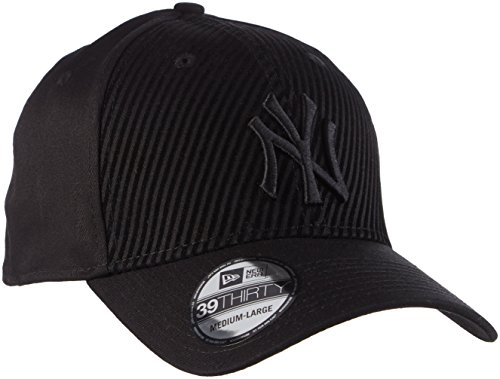 New Era New Era Ny Yankees Flock 39Thirty Stretch-Berretto da baseball Uomo    nero Medium