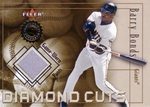 バリー・ボンズ Barry Bonds 2001 Fleer Diamond Cuts Jersey