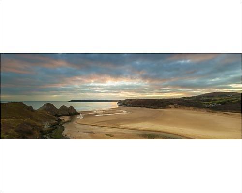 photographic-print-of-three-cliffs-bay-gower-peninsula-swansea-west-glamorgan-wales-united