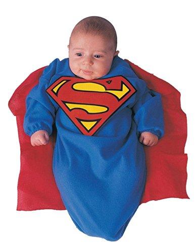 Superman Deluxe Bunting Infant Halloween Costume