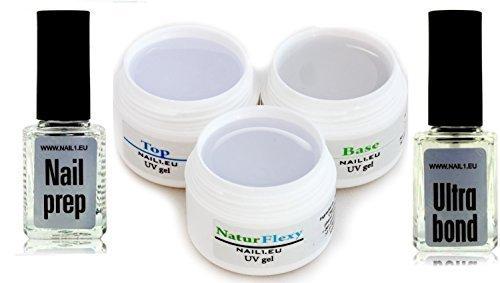 kit-de-gel-para-unas-debiles-montaje-mango-gel-sellador-nail1eu-ccleaner-primer