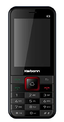 Karbonn K9 (Black And Red)