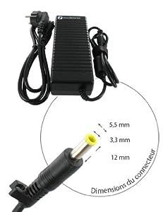Chargeur pour SAMSUNG NP-R610H, 19.0V, 4740mAh