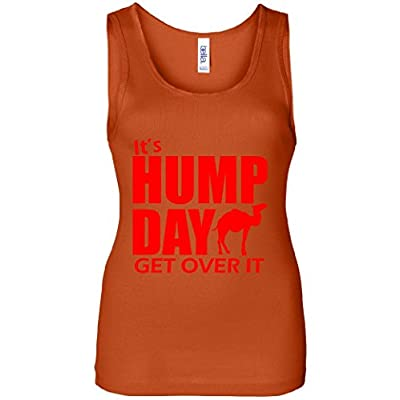 It's hump day get over it Women's Tank Top