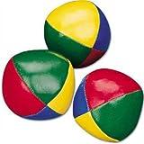 Hot Shots 3 x Metallic Juggling Balls 50mm