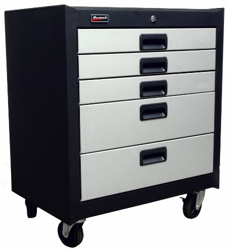 Images for Homak GS04005270 Steel 5 Drawer Mobile Cabinet