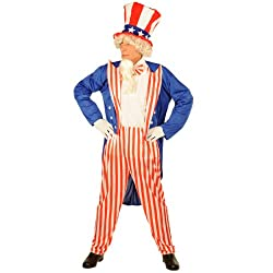 Uncle Sam Costume Adult - Adult Costumes
