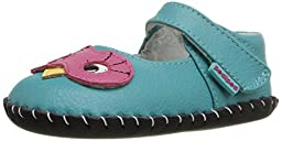 pediped Originals Jazzie Mary Jane (Infant), Peacock, X-Small (0-6 Months E US Infant)