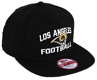 "NFL L.A. Rams New Era ""Los Angeles Football"" Script 9FIFTY Snapback Hat - Black"