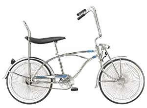 Mens Bike - PRINCE Beach Cruiser Bicycle Low-rider Chopper