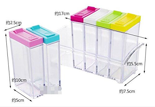 ... SPICE RACK Plastic 6 Masala Box Kitchen See Through Storage Containers · Previous · / Next  sc 1 st  Valuevisitor : plastic spice storage containers  - Aquiesqueretaro.Com