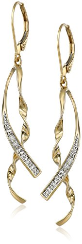 10k-yellow-gold-ribbon-diamond-accent-earrings