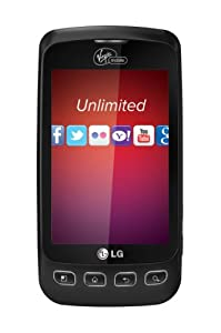 LG Optimus V Prepaid Android Phone (Virgin Mobile)
