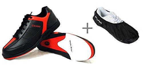 chaussures-de-bowling-dexter-ricky-iii-shoe-cover-uberzieher-brunswick-defense-mesdames-et-messieurs