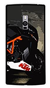 """Humor Gang Ktm Sports Bike Love Printed Designer Mobile Back Cover For """"OnePlus Two"""" (2D, Glossy, Premium Quality Snap On Case)"""