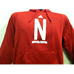 Nebraska Cornhuskers 2013 Unrivaled Pullover Hoodie Red by adidas