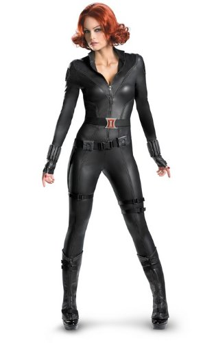 The Avengers Black Widow Theatrical Quality Adult Costume Size:Large 12-14