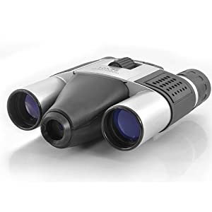 Digital Binocular Camera - 1.3 Megapixel Camera, 10x Zoom, Micro SD Card Memory