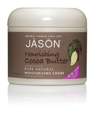 Jason Nourishing Cocoa Butter Crème, 4-Ounce Jars (Pack of 4) Cocoa Creme