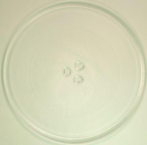 Mikrowellenteller / Drehteller / Glasteller für Mikrowelle # ersetzt Philips Mikrowellenteller # Durchmesser Ø 32 cm / 320 mm # Ersatzteller # Ersatzteil für die Mikrowelle # Ersatz-Drehteller # OHNE Drehring # OHNE Drehkreuz # OHNE Mitnehmer