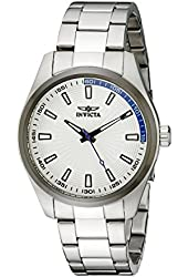 """Invicta Men's 12826 """"Specialty"""" Stainless Steel Silver Dial Watch"""