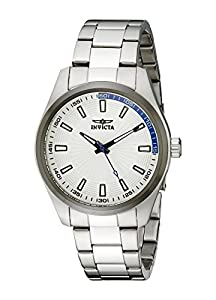 "Invicta Men's 12826 ""Specialty"" Stainless Steel Silver Dial Watch"