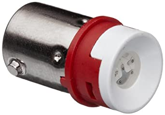 Omron A22-24AR LED Lamp, Red, 24 VAC/VDC Rated Voltage