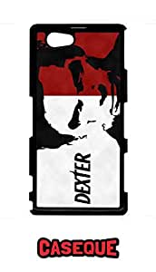 Caseque Dexter! Back Shell Case Cover for Sony Xperia Z1 Compact