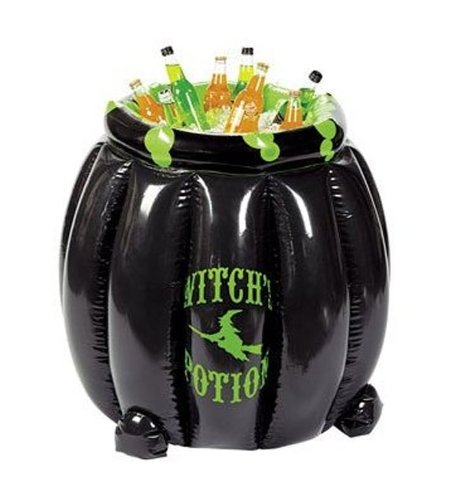 Witch's Potion Witch Cauldron Inflatable Beverage Cooler