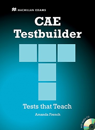 CAE TESTBUILDER Sts Pack -Key N/E: Student Book Pack Without Key