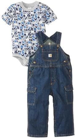 Amazon Carhartt Baby Boys Washed Denim Bib Overall