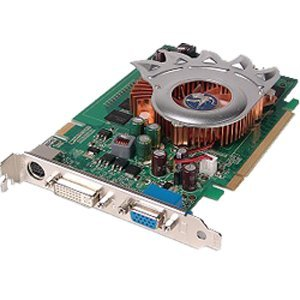 NEW Dell Nvidia EVGA E-GeForce 7600 GS Dual View 256MB Video Card CW340 DDR2