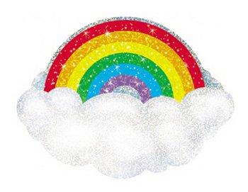 Sparkle Radiant Rainbow Classic Accents-Sparkle - 1
