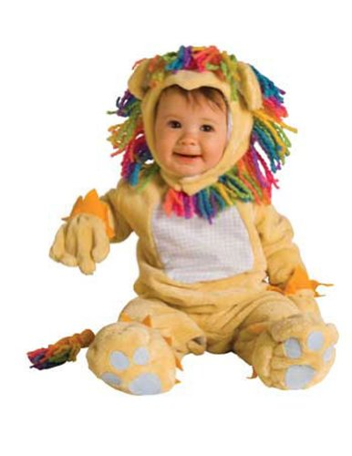 Halloween Costumes Item - Fearless Lil Lion Baby Costume